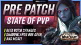 State of PvP in the Pre-Patch, Battleground Gearing Issues, Beta Build Changes + MORE!