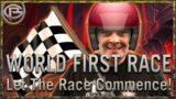 World First Race – Let the race commence!