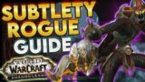Shadowlands Subtlety Rogue Guide