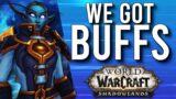 WE GOT BUFFS! New Update Very Soon For Classes In Shadowlands! – WoW: Shadowlands 9.0