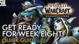 Shadowlands Week 8 Guide: What To Expect