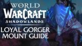 Loyal Gorger MOUNT Guide! | Shadowlands