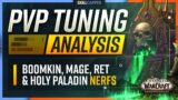 PvP Tuning Analysis: Are These Classes Still Viable? | Boomkin, Mage, Ret & Holy Paladin Nerfs