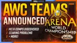 New AWC Teams Announced, Meta Comps Discovered, Gearing Problems + MORE!
