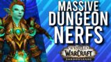 MASSIVE DUNGEON NERFS! Big Recent Updates For PvE In Shadowlands! | WoW: Shadowlands 9.0