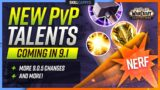NEW PvP TALENTS COMING IN 9.1, PvP SCALING RETURNING + MORE! | WoW Shadowlands