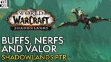 New 9.0.5 PTR! Valor Updates, Legendary and Ability Tuning – WoW Shadowlands