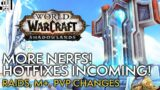 Last Minute NERFS And Class Hotfixes Before Reset, Have A Look!