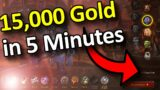 FARM 15,000 GOLD IN 5 MINUTES USING CLASS TRIALS! | Solo Gold Farming Guide | Shadowlands