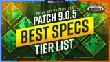 NEW UPDATE: BEST SPECS TIER LIST   WoW Shadowlands 9.0.5 [Patch Day Predictions]