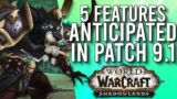 5 Most Anticipated Features Of Patch 9.1 In The Future Of Shadowlands! – WoW: Shadowlands 9.0.5