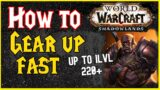 Gearing Alts is EASY | Do this if you NEED GEAR FAST | WoW Shadowlands