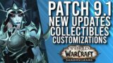 IT IS FINALLY HERE! First Look At Content In Patch 9.1 PTR Shadowlands! – WoW: Shadowlands 9.1 PTR