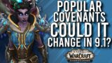 The MOST Popular Covenant/Class Combos! Could They Change In Patch 9.1? – WoW: Shadowlands 9.0
