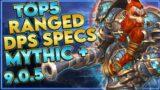Shadowlands 9.0.5 – Mythic Plus Best Ranged DPS
